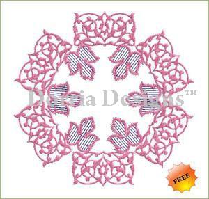 Ornament embroidery design 031