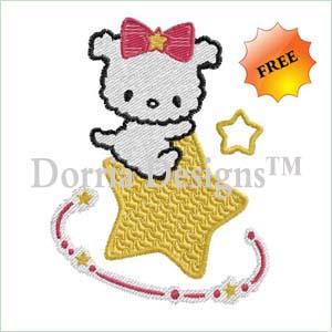 cute embroidery design