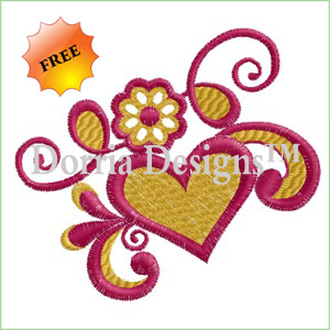 Creative embroidery design