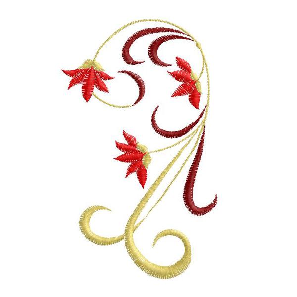 Free ornament embroidery design 005
